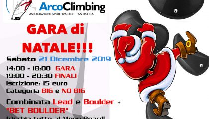 Arcoclimbing gara natale 2019